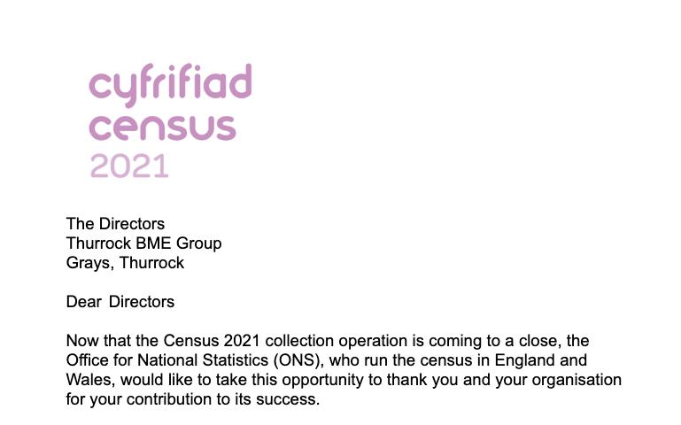 Census Letter