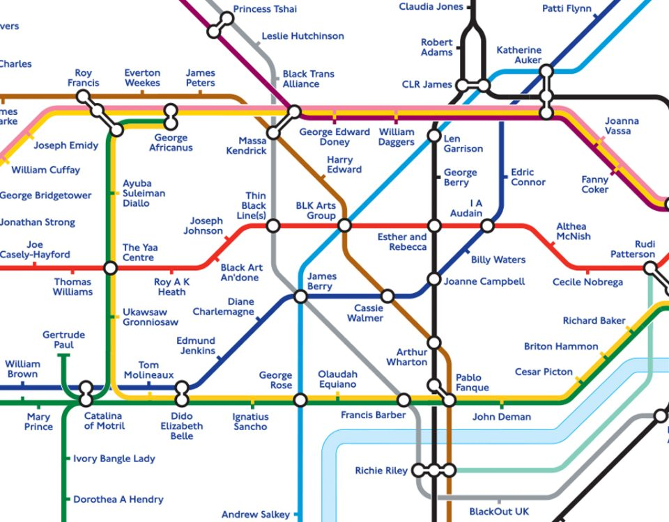 BHM Tube map